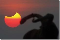 Cambodia Solar Eclipse